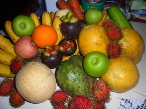 vegetables and fruits for Grave's disease