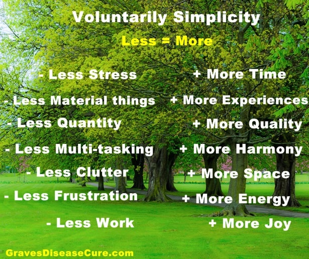 Voluntarily Simplicity