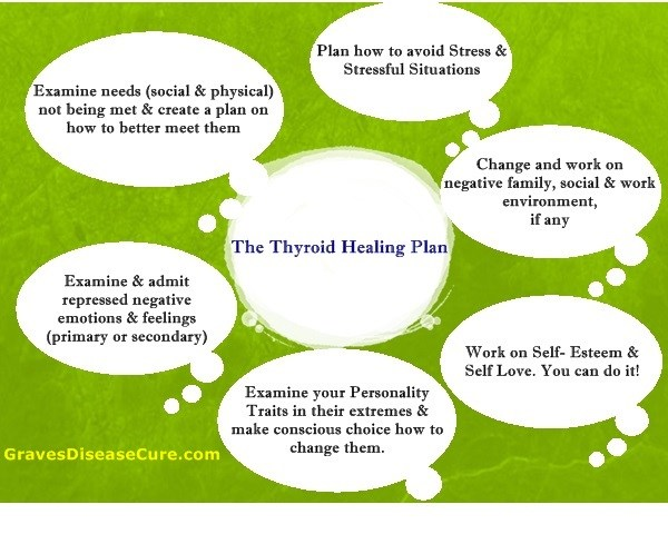 Thyroid healing plan